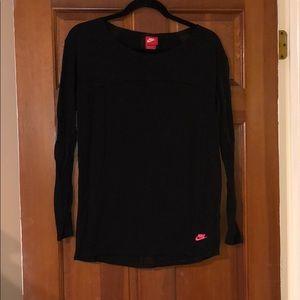 Nike black long sleeve